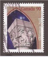 CANADA, 1995.  USED   # 1587, CHRISTMAS   SCULTURE - 1952-.... Règne D'Elizabeth II