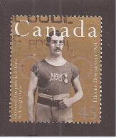 CANADA 1996,USED, # 1609, CANADIAN OLYMPIC GOLD MEDALLISTS: ETIENNE DESMARTEU   1904 - Oblitérés