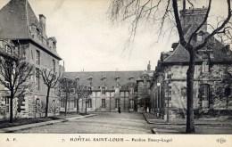PARIS  10è Hopital Saint-Louis Pavillon Emery-Lugol   ELD - District 10