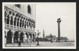 Plaza Of San Marco Venice ITALY Real Photo Postcard Unused C1920s STK#93494 - Venezia