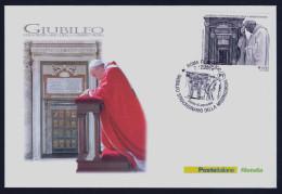 """2015 ITALIA """"GIUBILEO STRAORDINARIO DELLA MISERICORDIA"""" FDC - 6. 1946-.. Republic"""