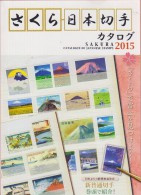 RO) 2015 JAPAN, CATALOGUE OF JAPANESE STAMPS, ENGLISH VERSION, 379 PAGES, EDITION JAPAN PHILATELIC, XF - Books On Collecting