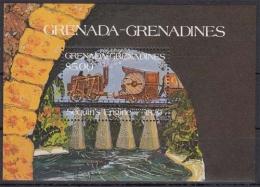 Grenada MiNr. Bl. 86 ** Lokomotiven - Grenade (1974-...)