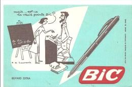 Buvard BIC Mais...est-ce La Vraie Pointe BIC - Stationeries (flat Articles)