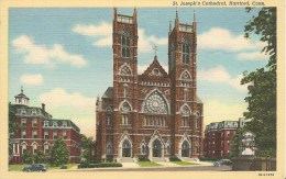 CPA-1939-USA-CONNECTICUT-HARTFORD-ST JOSEPH CATHEDRALE-TBE - Hartford