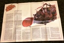 POSTER HISTOIRE TOM SAWYER EN BALLON ILLUSTREE PAR REF RENE FOLLET - Vieux Papiers