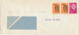 Turkey Cover Sent Air Mail To Denmark - 1921-... Republic