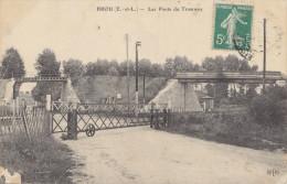 28 Eure Et Loir - Brou , Les Ponts Du Tramway - Autres Communes