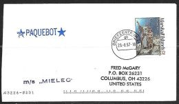1997 Paquebot Cover, Marshall Islands Stamp Used In Kiel, Germany - Marshall Islands
