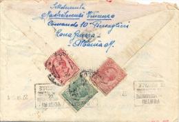 Regno D´Italia 1919 Occupazione Albania Lettera Per Roma Da Ufficiale Dei Bersaglieri Con Testo - WW1