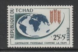 TIMBRE NEUF DU TCHAD - CAMPAGNE MONDIALE CONTRE LA FAIM N° Y&T 83 - Contro La Fame