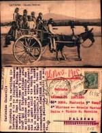 1233c) Cartolina Di Catania-carretto Siciliano-viaggiata - Catania