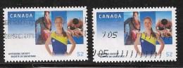 CANADA ,2008,   USED # 2282 & 2282i  ,LIFESAVING  , Sauveteuses , Natation - Carnets