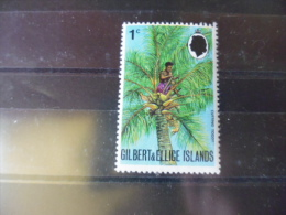 TIMBRE DES ILES GILBERT ET ELLICE   YVERT N° 168** - Gilbert & Ellice Islands (...-1979)