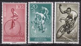 Série De 3 Timbres-poste Neufs** - Journée Du Timbre Dia Del Sello 1959 - N° 410-411-412 (Yvert) - Guinée Espagnole 1959 - Guinée Espagnole