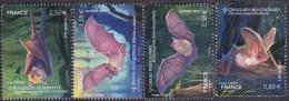 France N° 4739 à 4742 ** Les Chauves-souris - Grand Rhinolophe, Roussette De Mayotte,Oreillard Montagnard, Murin De N... - Ungebraucht