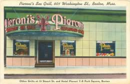 BOSTON - Pieroni's Sea Grill, 601 Washington St. - Boston