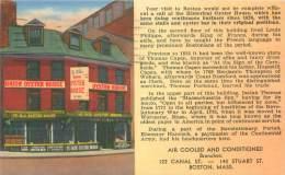 BOSTON - Union Oyster House, Ye Olde Oyster House Since 1826, 41 Union Street - Boston