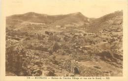 MATMATA - Ruines De L'ancien Village Et Vue Sur Le Bordj - Tunisie
