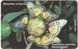 SIERRA LEONE - Butterflies Of Sierra Leone/Euphaedra Cyparissa(100 Units), Mint - Sierra Leone