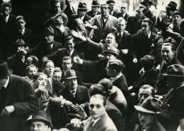 France Paris Marche De La Coulisse Coulissiers Bourse Ancienne Photo 1948 - Métiers