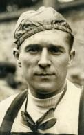 France Paris Portrait Du Cycliste Louis Thietard Sport Ancienne Photo 1939