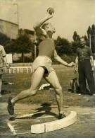 France Paris Decathlon Pierre Sprécher Championnat De France Ancienne Photo 1950 - Sports