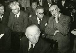 France Paris Leon Blum Conseil National De La SFIO Socialisme Ancienne Photo 1947 - Famous People
