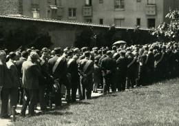 France Paris Pere Lachaise Mur Des Federes Ligue De La Libre Pensée Ancienne Photo Henri Manuel 1934 - Photographs