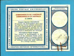 AUSTRALIA - 12 CENTS - MOSMAN NSW AUST - International Reply Coupon Reponse Antwortschein - Postal Stationery