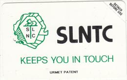 SIERRA LEONE - SLNTC Logo(black SLNTC On Reverse), Second Issue 100 Units, Mint