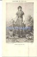 29129 PORTUGAL ARCOS DE VALDEVEZ COSTUMES WOMAN  POSTAL POSTCARD - Portugal
