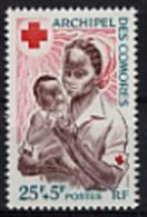 Comores, Comoros, 1967, Red Cross, Croix Rouge, MNH, Michel 85
