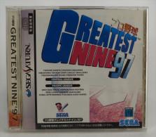 Sega Saturn Japanese : Pro Yakyuu Greatest Nine ´97   GS-9139 - Sega