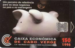 CAPE VERDE - Caixa Economica De Cabo Verde, Used - Kapverden