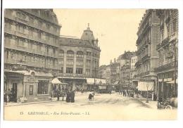 Cp, 38, Grenoble, Rue Félix Poulat - Grenoble