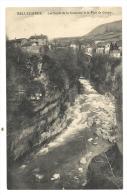 Cp, 01, Bellegarde, Les Bors De La Valserine Et Le Pont Du Coupy, Voyagée - Bellegarde-sur-Valserine