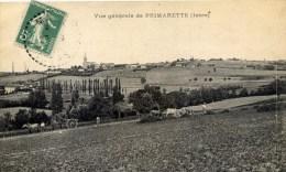 38 PRIMARETTE Vue Générale Scène Agricole Petit Plan - France