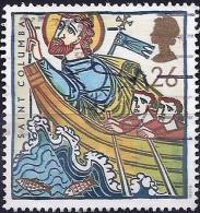 Great Britain 1997 - Saint Columba In Boat ( Mi 1684 - YT 1942 ) - Oblitérés