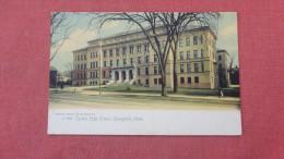 Rotograph  ----  - Massachusetts> Springfield  High School       =====   83