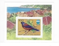 Malagasy 1975 Birds Expo S/S MNH - Madagascar (1960-...)