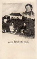 ST GEORGEN AM STEINFELDE, ST. POLTEN, SCHLOSS OCHSENBURG, SCHUBERT, ZWEI SCHUBERTFREUNDE, ORIGINAL - St. Pölten