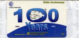 @+ Ile De L´Ascencion - 100th Anniversary (Neuve Sous Blister) - N°308CASA... - Ascension