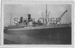 paquebot fran�ais MEXIQUE - photo authentique des ann�es 30s- bateau/ship/schiff