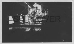 paquebot fran�ais NORMANDIE, pose des h�lices - photo authentique des ann�es 30s- bateau/ship/schiff