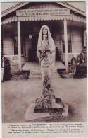 MILITARIA . GUERRE 1914.1918. OSSUAIRE PROVISOIRE DE DOUAUMONT . STATUE DE LA RESIGNATION OFFERTE PAR Mme GIRARDET - War 1914-18