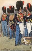 GARDE IMPERIALE 1854 Gendarmerie à Pied Tambour (Illustrée Par Maurice Toussaint) - Uniformes
