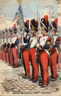GARDE IMPERIALE 1857 Grenadiers (Illustrée Par Maurice Toussaint) - Uniformes