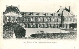 N°46935 -cpa Torigni Sur Vire -le Château- - Autres Communes
