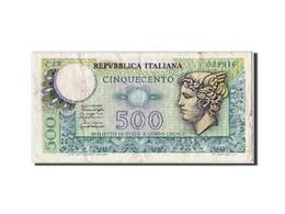 Italie, 500 Lire, 1976, KM:95, 1976-12-20, TB - [ 2] 1946-… : République